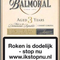 Balmoral Aged 3 years Short Corona 5 Cigaronline.nl