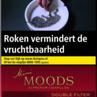 Ritmeester Mini Moods Double Filter Cigaronline.nl