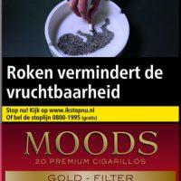 Ritmeester Moods Gold Filter Cigaronline.nl