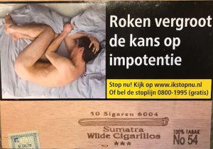 Sumatra Wilde Cigarillos 50 sigaren 6004 No 54 100% tabak Cigaronline.nl