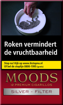 Ritmeester Moods Silver Filter Cigaronline.nl